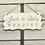 Thumbnail: Bruiloft wegwijzer hout gepersonaliseerd