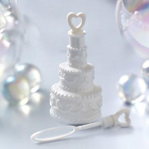 Bellenblaas bruidstaart