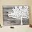 Thumbnail: Gastenboek houtnerf canvas met wensboom