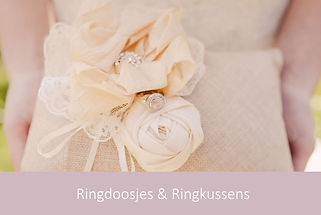 Ringdoosjes & Ringkussens | YourWeddingShop