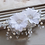 Thumbnail: Haaraccessoire beautiful flowers wit