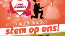 YourWeddingShop - Van genomineerd tot finalist bij de Love Awards Publieksprijs!