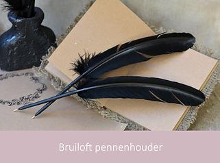 Bruiloft pennenset | YourWeddingShop