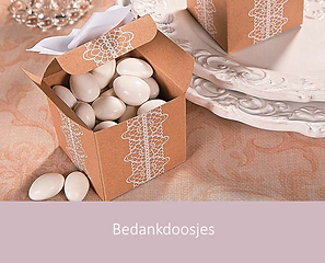 Bedankdoosjes | YourWeddingShop