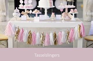 Tasselslingers bruiloft | YourWeddingShop