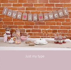 Just my type bruiloft | YourWeddingShop