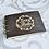 Thumbnail: Gastenboek hout personaliseerbaar zwart