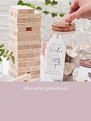 Alternatieve gastenboek | YourWeddingShop