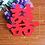 Thumbnail: Dubbel geluk decoratie stickers