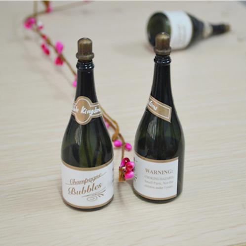 Bellenblaas champagnefles