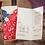 Thumbnail: Trouwkaart Aziatisch dubbel geluk blauw rood