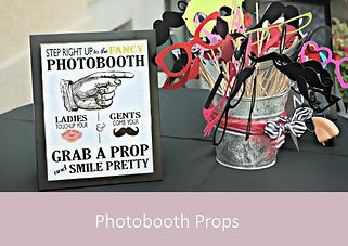 Photobooth Props | YourWeddingShop