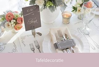 Tafeldecoratie bruiloft | YourWeddingShop