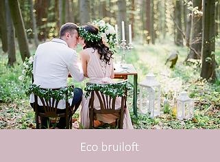 Eco bruiloft | YourWeddingShop