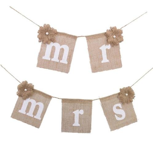 Mr & Mrs jute slinger
