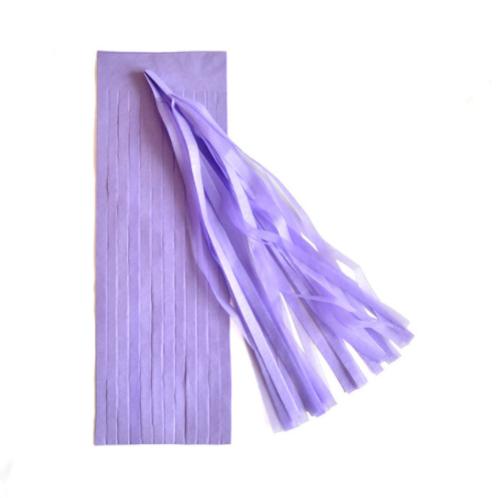 DIY Tassels lavendel