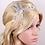 Thumbnail: Haaraccessoire steentjes & parels haar sieraad