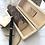 Thumbnail: Alternatief gastenboek houten box met hartjes