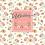 Thumbnail: Trouwkaart rozen opgerold in een roze doosje