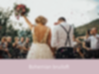 Bohemian bruiloft   YourWeddingShop