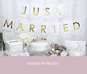 Marble Perfection bruiloft | YourWeddingShop