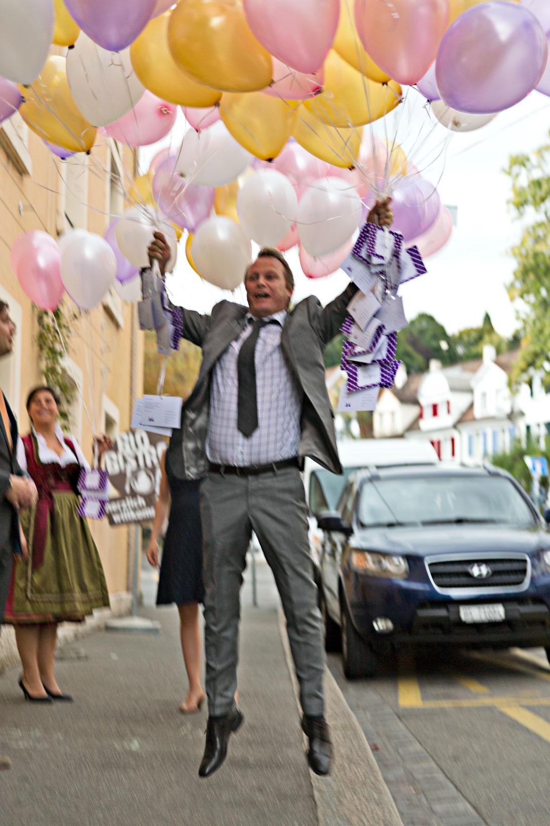 Luftballon - Hochzeitsplanerin Basel