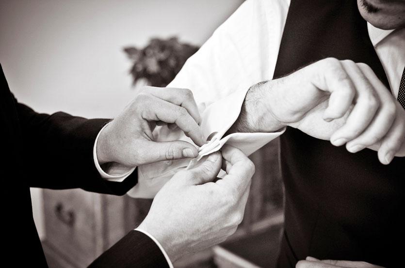 Bräutigam - Hochzeitsplanerin Basel