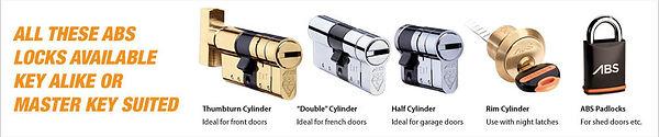 ABS Keys and locks
