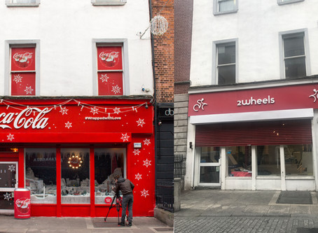 Before and After: Coca Cola Pop Up