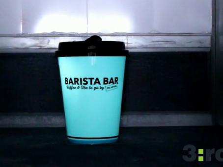 Solar Powered Coffee Cup