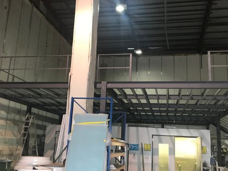 New 5000 sq.ft Mezzanine