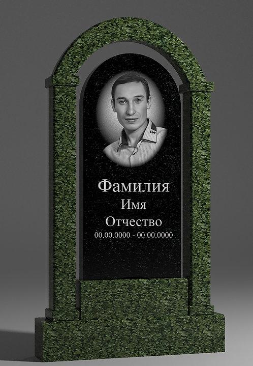 Памятник с аркой из масловского гранита
