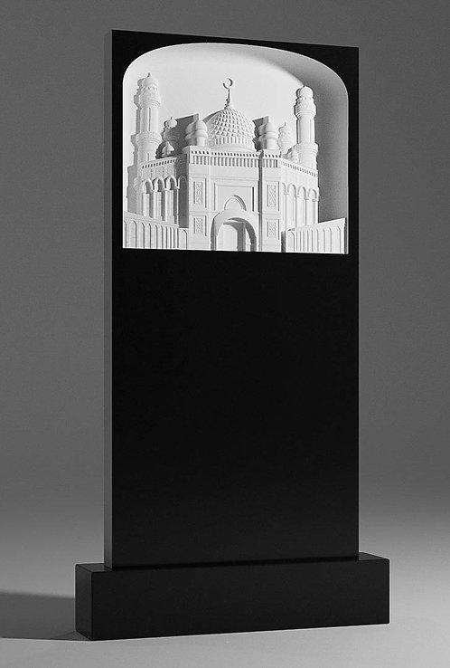 Памятник В-42 с Мечетью