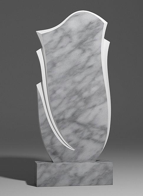 Фигурный памятник из уфалейского мрамора