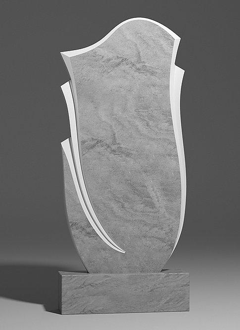 Фигурный памятник из мрамора
