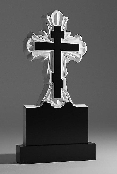 Крест из гранита 01