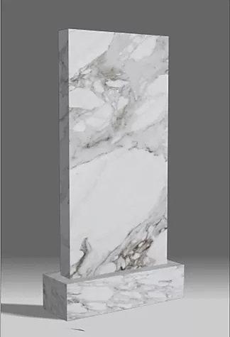 Вертикальный мраморный памятник