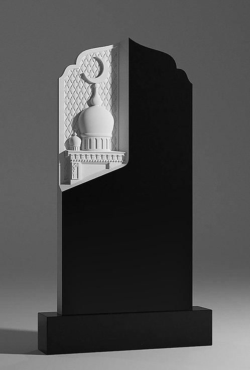Памятник В-37 с Мечетью