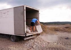 Строителни отпадъци изхвърляне