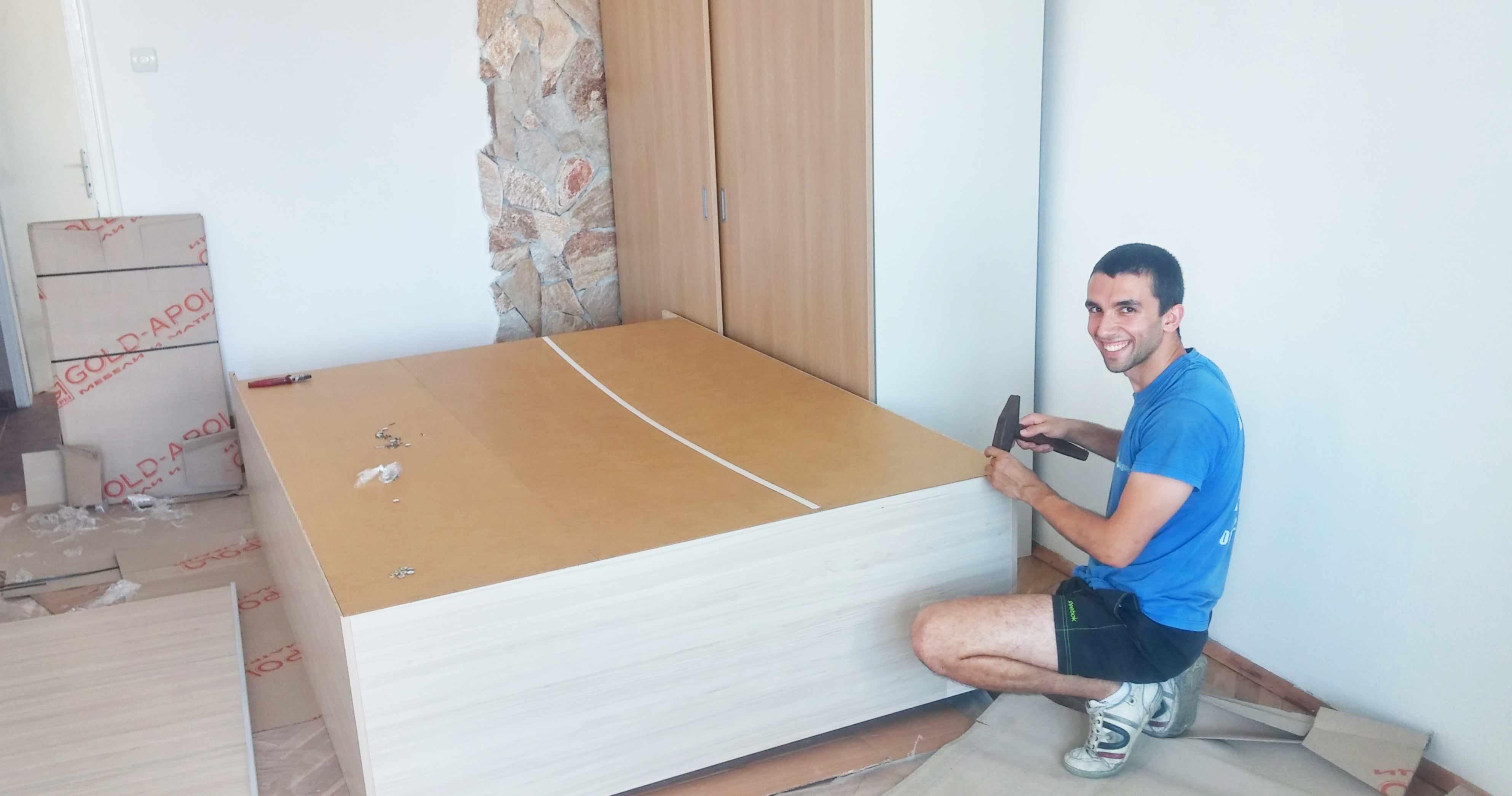 Демонтаж и монтаж на мебели