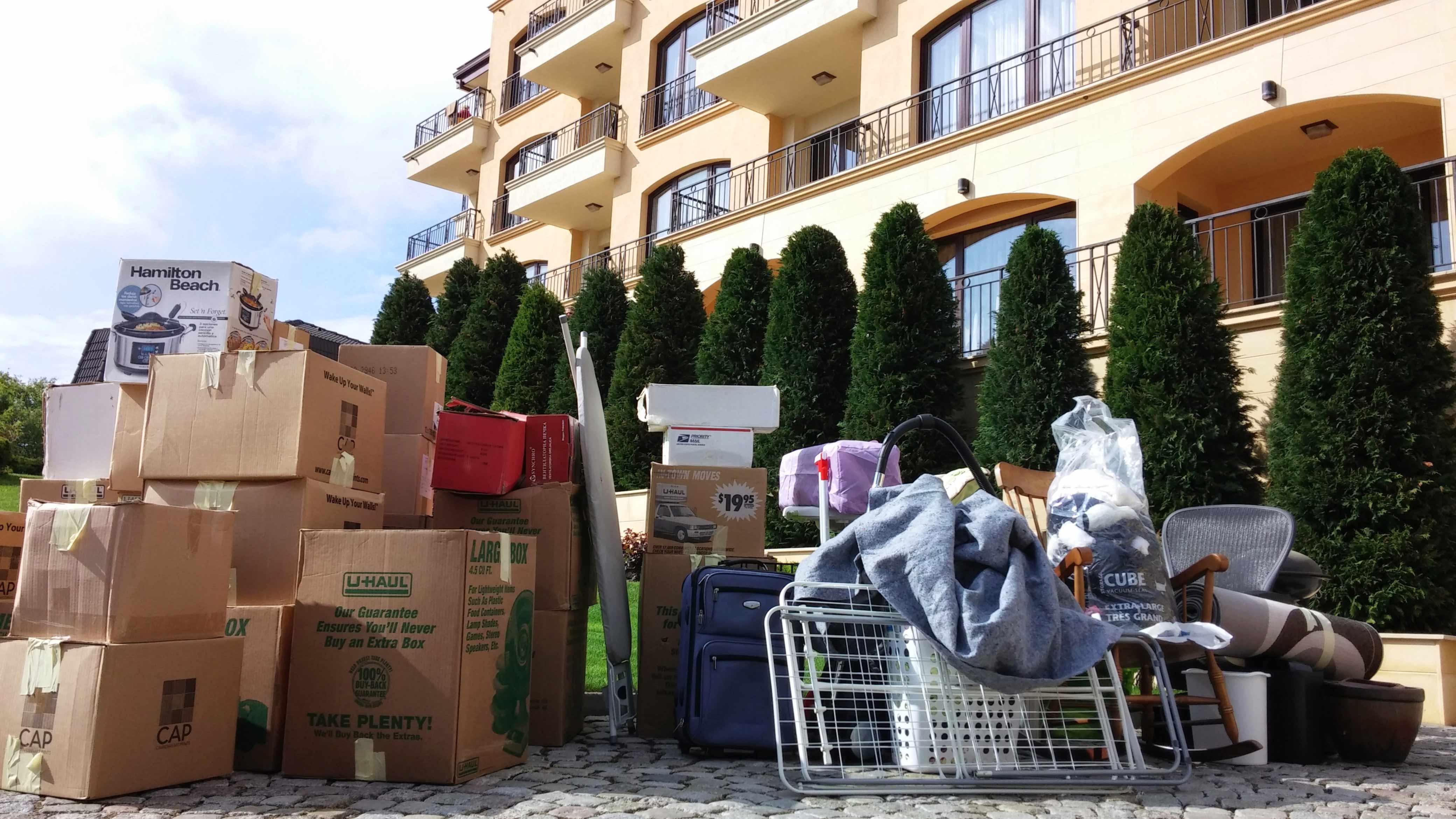 Приготване на багаж за товарене