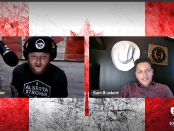Rob Boutilier and guest Samuel Blackett