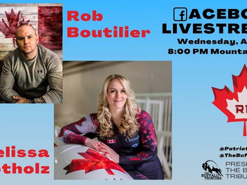 A conversation with Rob Boutilier and Canadian Olympian Bobsledding Hero Melissa Lotholz