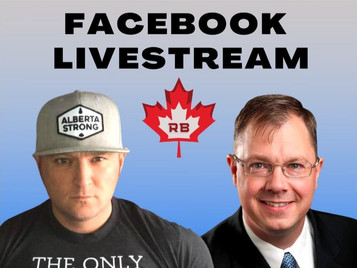 Wednesday Night Live stream with host Rob Boutilier & Special Guest John Carpay from the JCCF
