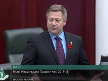 """EXCLUSIVE: """"There's a misunderstanding about the place of firearms legislation"""" - MLA Shane Getson"""