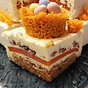 Carrot Mousse Cake
