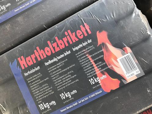 Briquettes bois dur - Hartholzbriketts 10kg