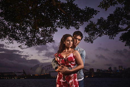 Promo pic for West Side Story on Sydney Harbour