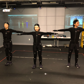 Motion Capture - Rigging Two Bodies