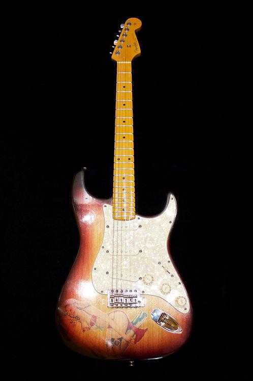 Letocaster Stratocaster Abigail Ybarra